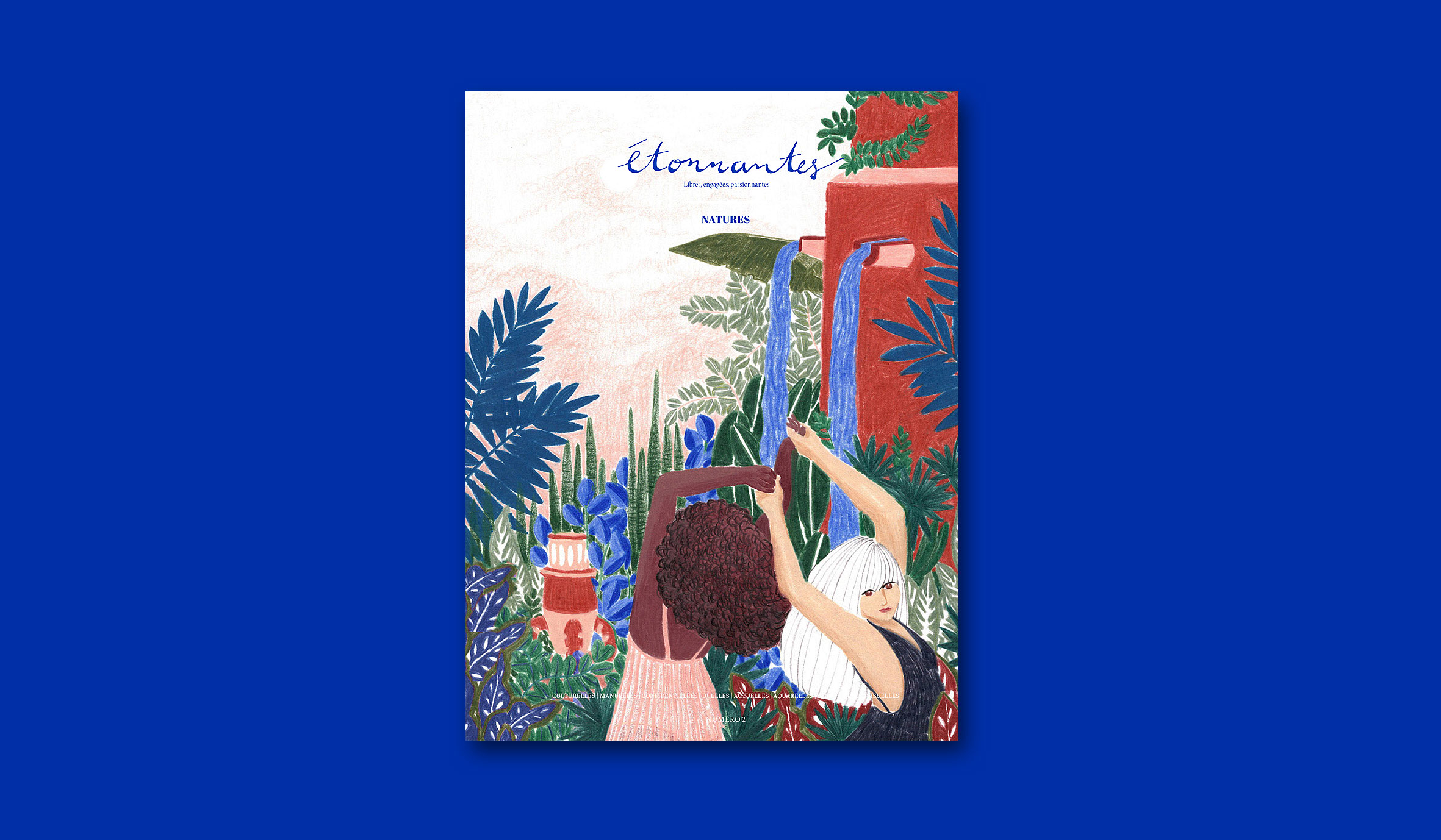 étonnantes numéro 2 magazine couverture mlle jane doe